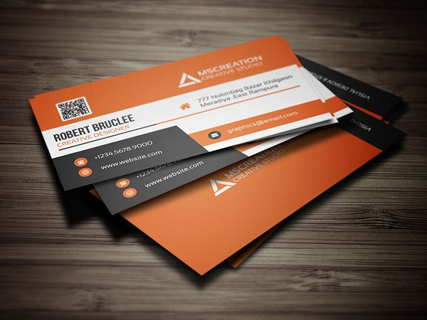 Creative Business Card Template Businesscards Corporatedesign - Web design business cards templates