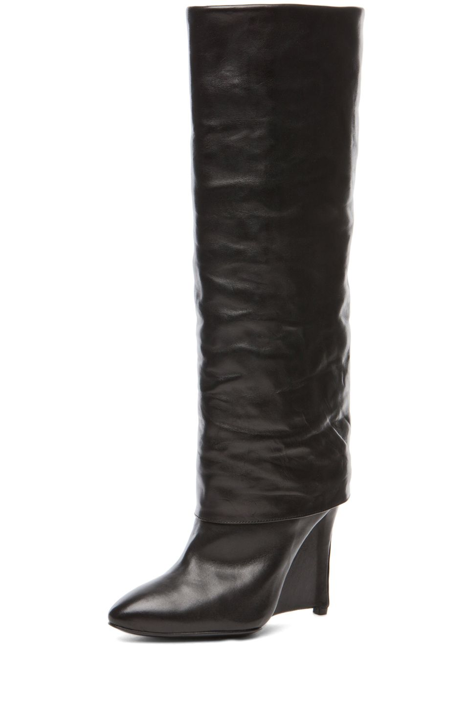 A totally posh Plan B look to the SOLD OUT  Givenchy Sheath boot.