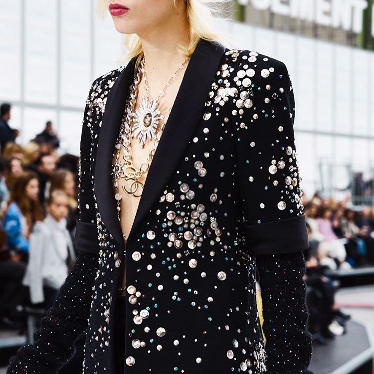 Chanel 2017 via @tmagazine