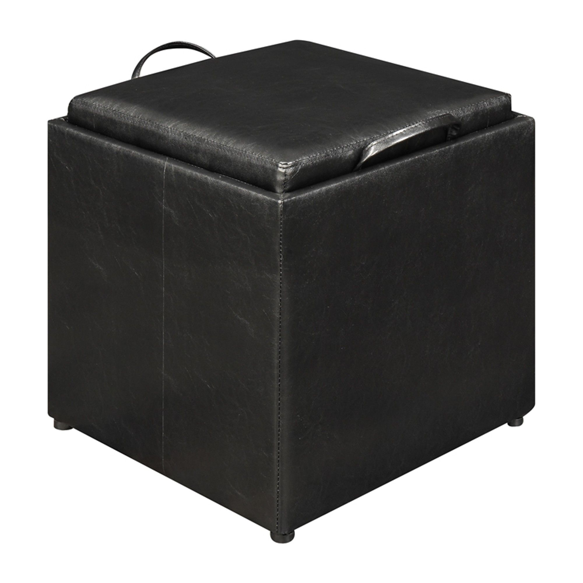 Miraculous 3 Piece Designs4Comfort Storage Ottoman Black Convenience Short Links Chair Design For Home Short Linksinfo