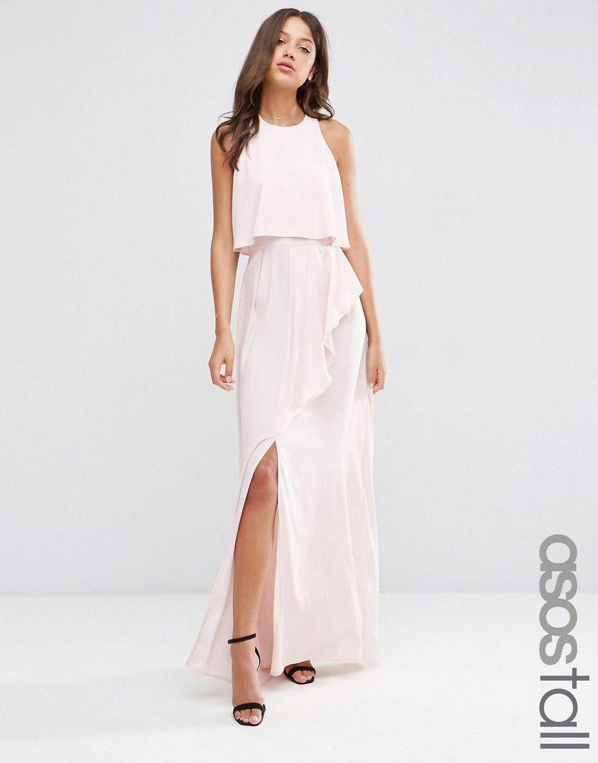 Tall maxi dress asos