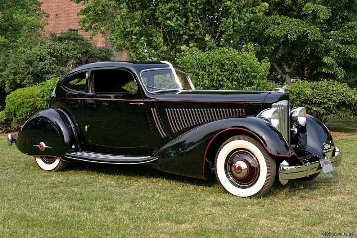 1934 Packard Eight 1101 Coupe Roadster | Photographed on Sep… | Flickr