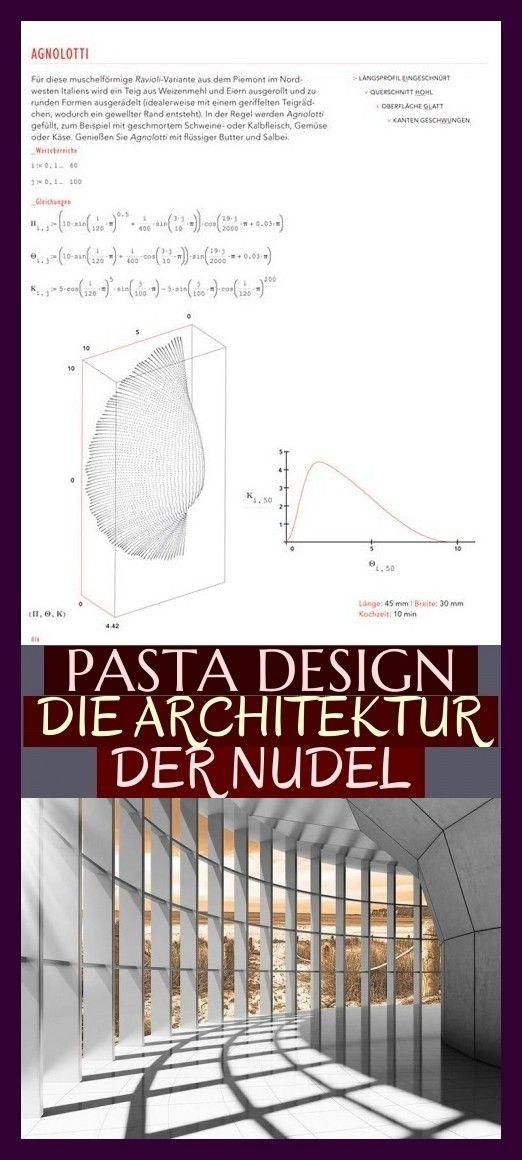 Pasta Design Die Architektur Der Nudel