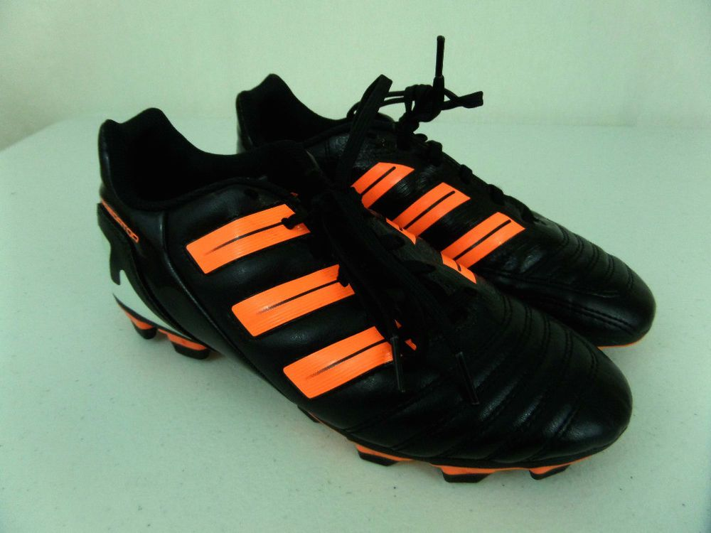 reputable site e0f14 aa4c0 Adidas Predator Soccer Cleats Mens Size 6 Black   Orange 11 11 Shoes EUC   adidas