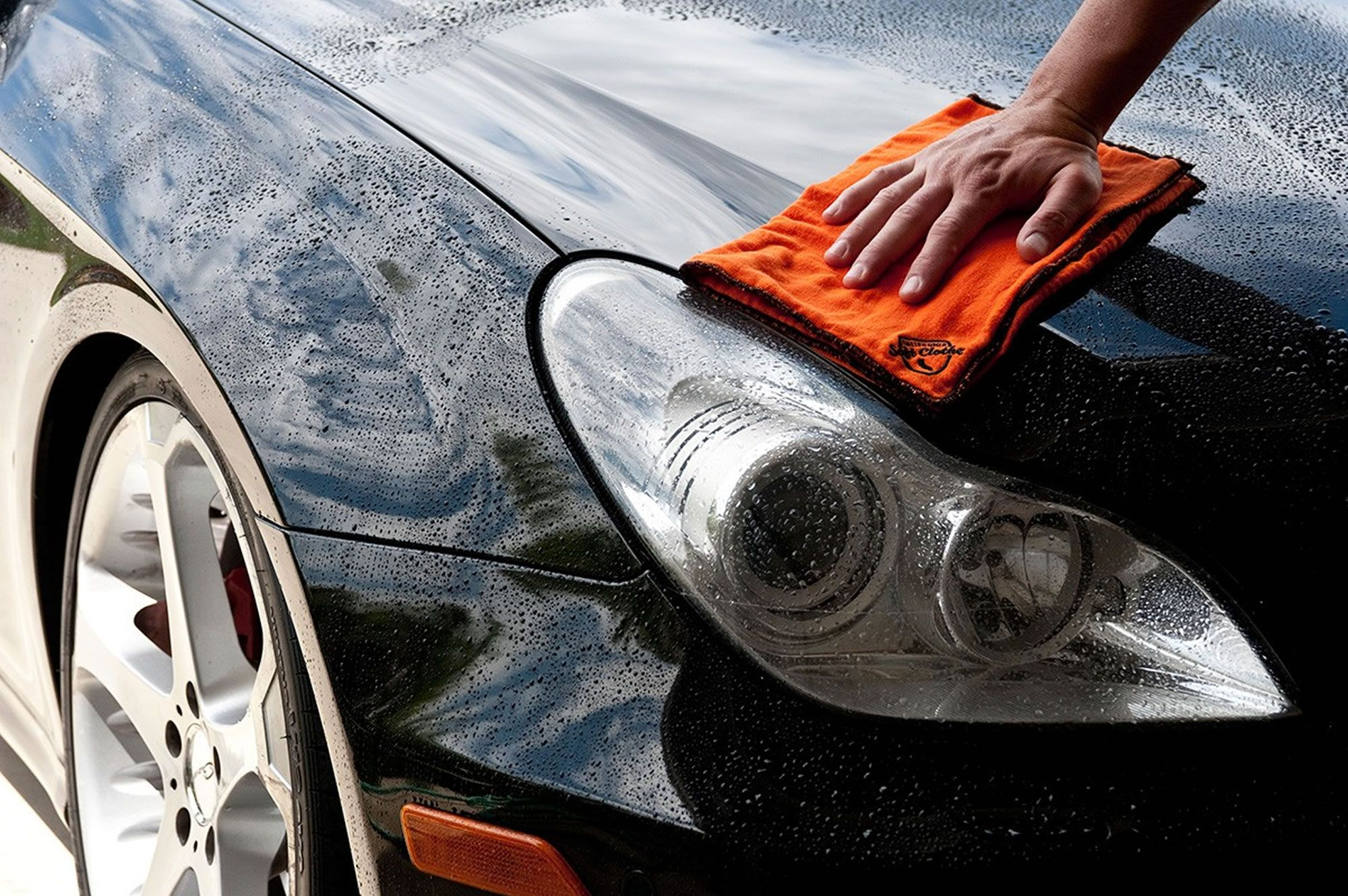 Car cleaning