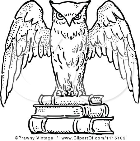 40++ Owl clipart black and white vector info