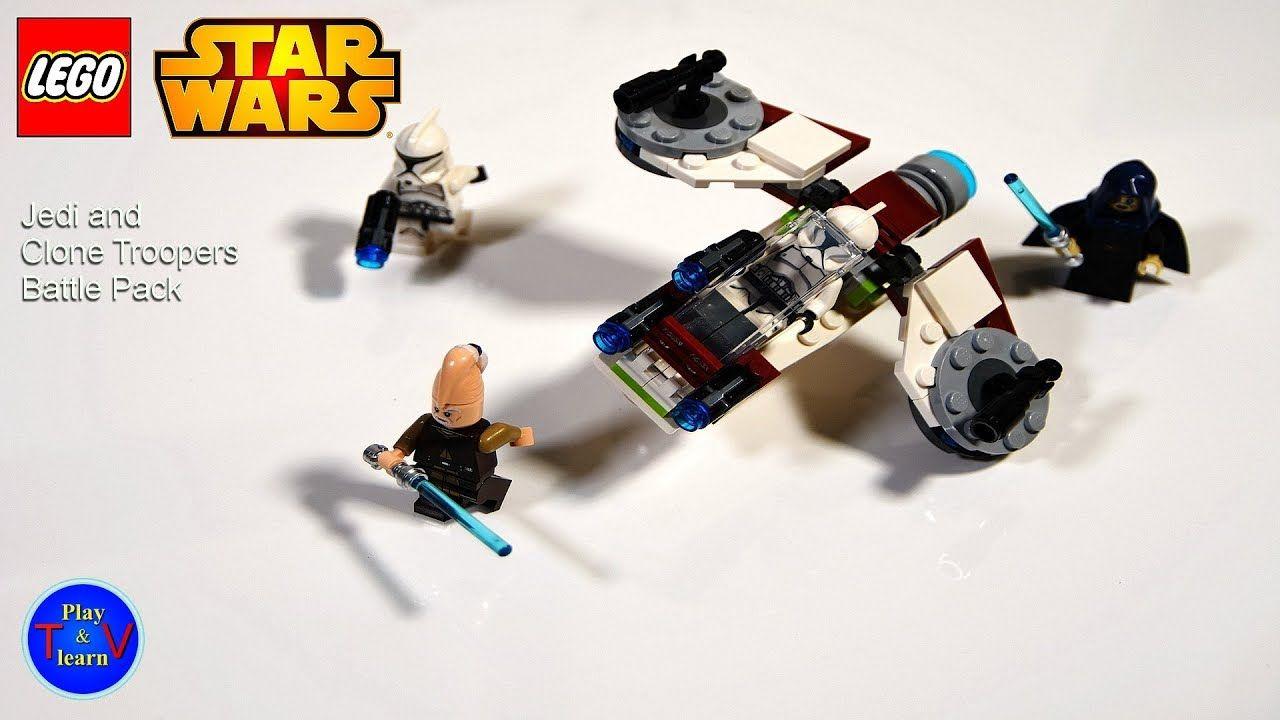 LEGO Star Wars Jedi Clone Trooper Battle Pack 75206 FREE SHIPPING!