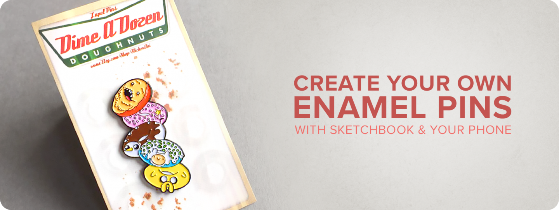 Diy How To Produce Enamel Pins Enamel Pins Diy Make Enamel Pins Sketch Book
