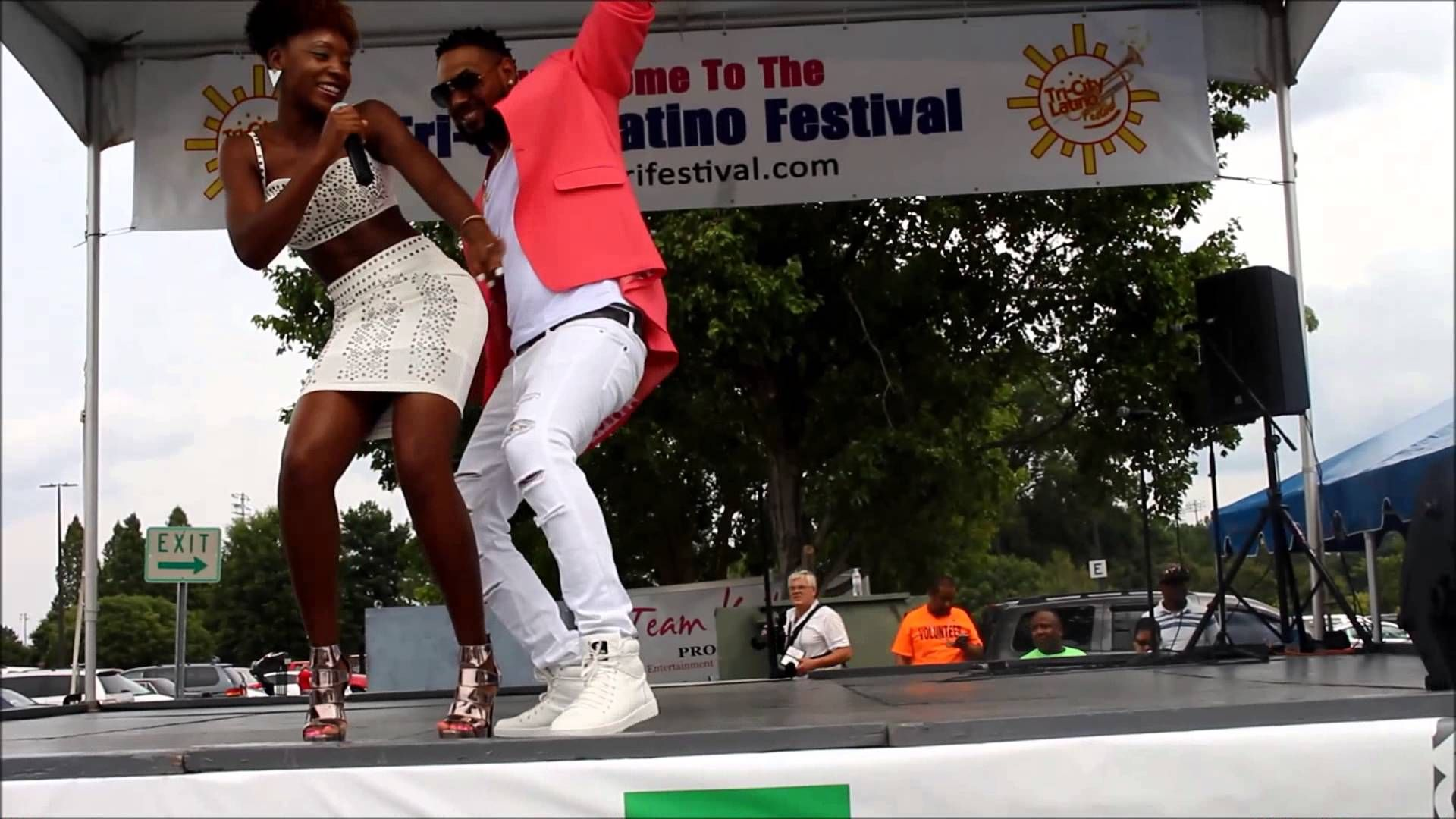 Nori Amada - Partna ft. King Blak (2015 Tri-City Latino Festival Perform...