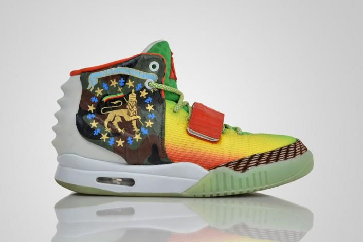 "Nike Air Yeezy 2 ""Marleezy"" Custom"