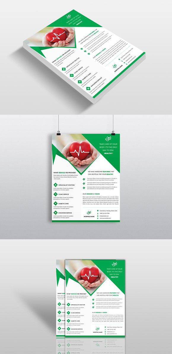 Medical  Doctors Flyer Template  Flyer Template And Business Flyers