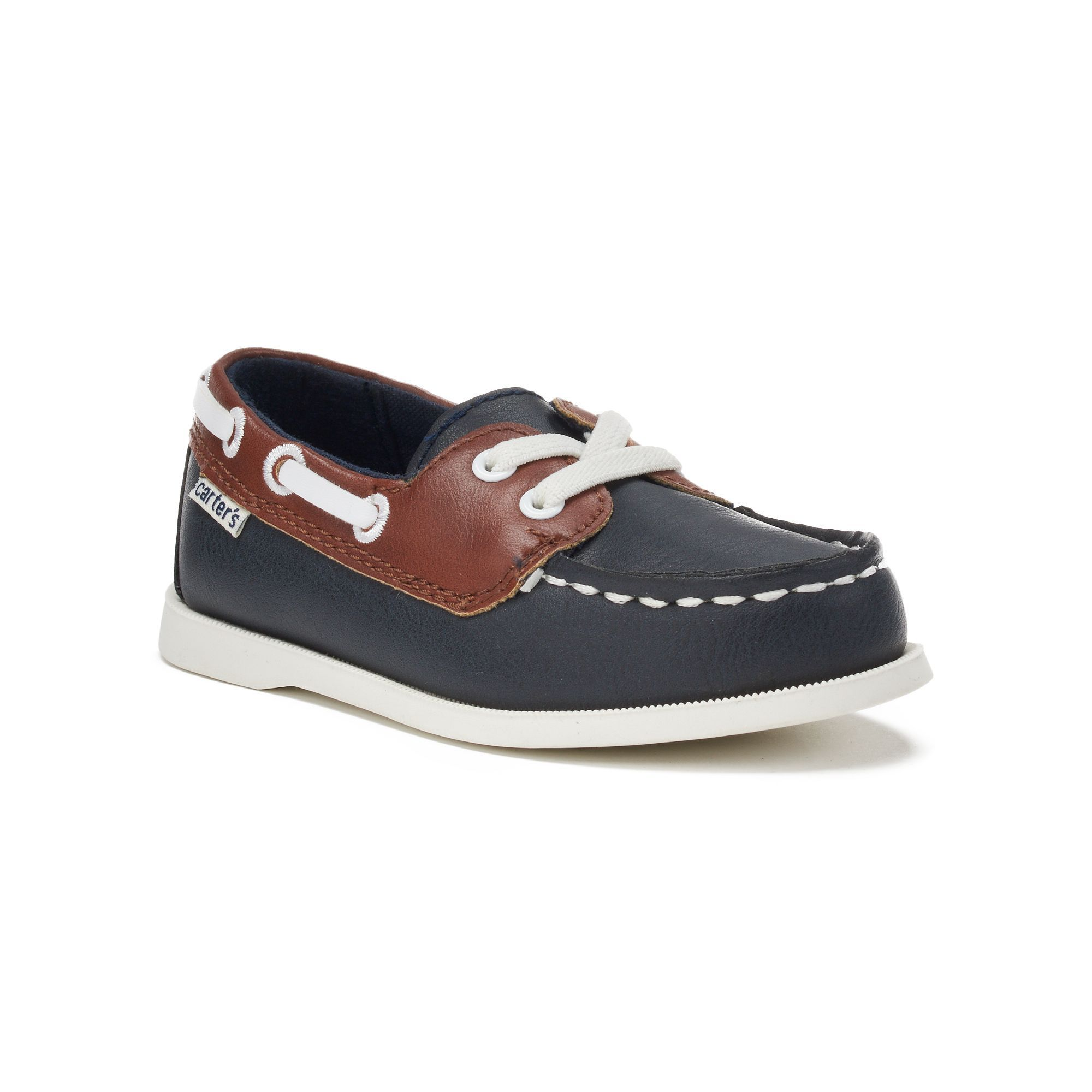 Carter s Ian 2 Toddler Boys Boat Shoes Blue Navy