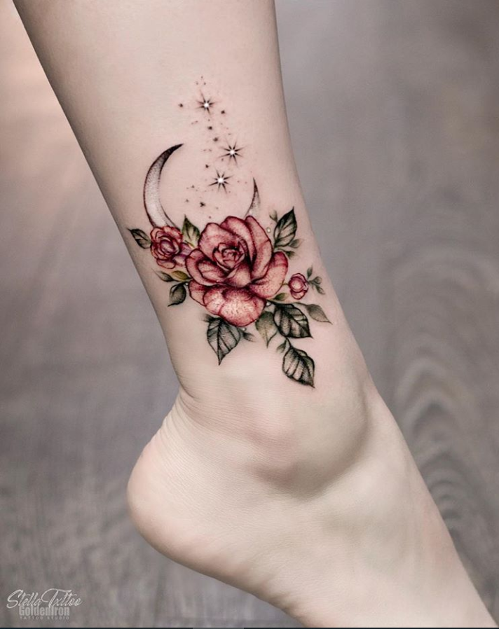 Lower Leg Small Tattoos For Females : lower, small, tattoos, females, Lastest, Lower, Tattoo, Designs, Flower, Spring, Summer, Tattoo…, Small, Tattoos,, Tattoos