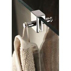 Doppelhaken Universal Dusche Duschkabine Handtuchhalter