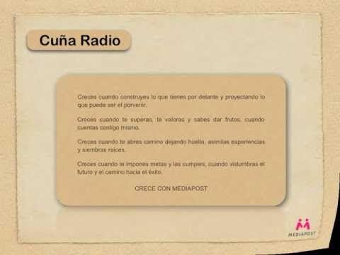 Campañas Finales del Máster de Creatividad Publicitaria 2012. Cuña.