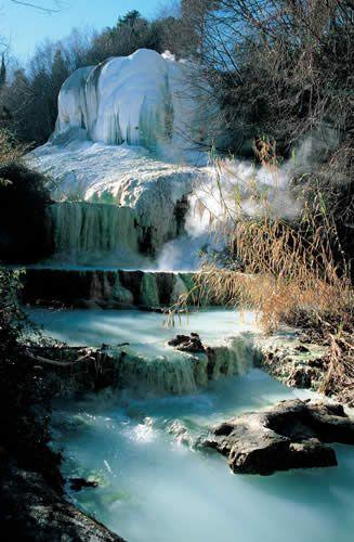 Bagni di san filippo monte amiata near san quirico d - Bagni di san filippo inverno ...