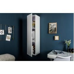 Photo of Modern wall cabinet Cubus 120cm white high gloss wall shelf vertical Riess AmbienteRiess Ambiente