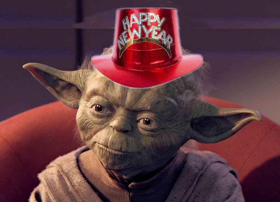 Happy New Year everyone happynewyear starwars yoda