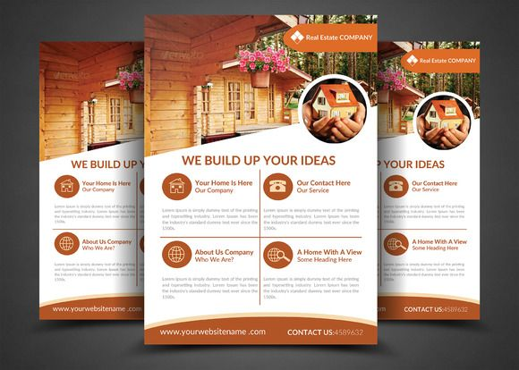 Real Estate Flyer Templates By Afzaalgraphics On Creativework247