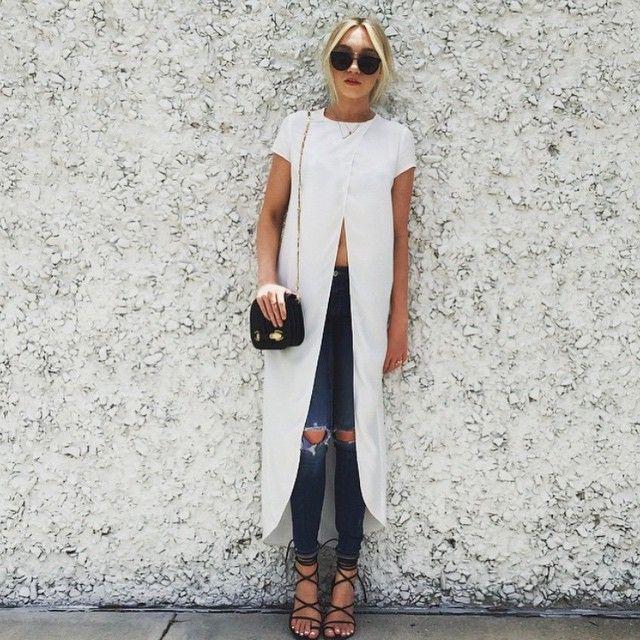 Via @fashion_fordummies | ShebySmd wearing Zara top and jeans