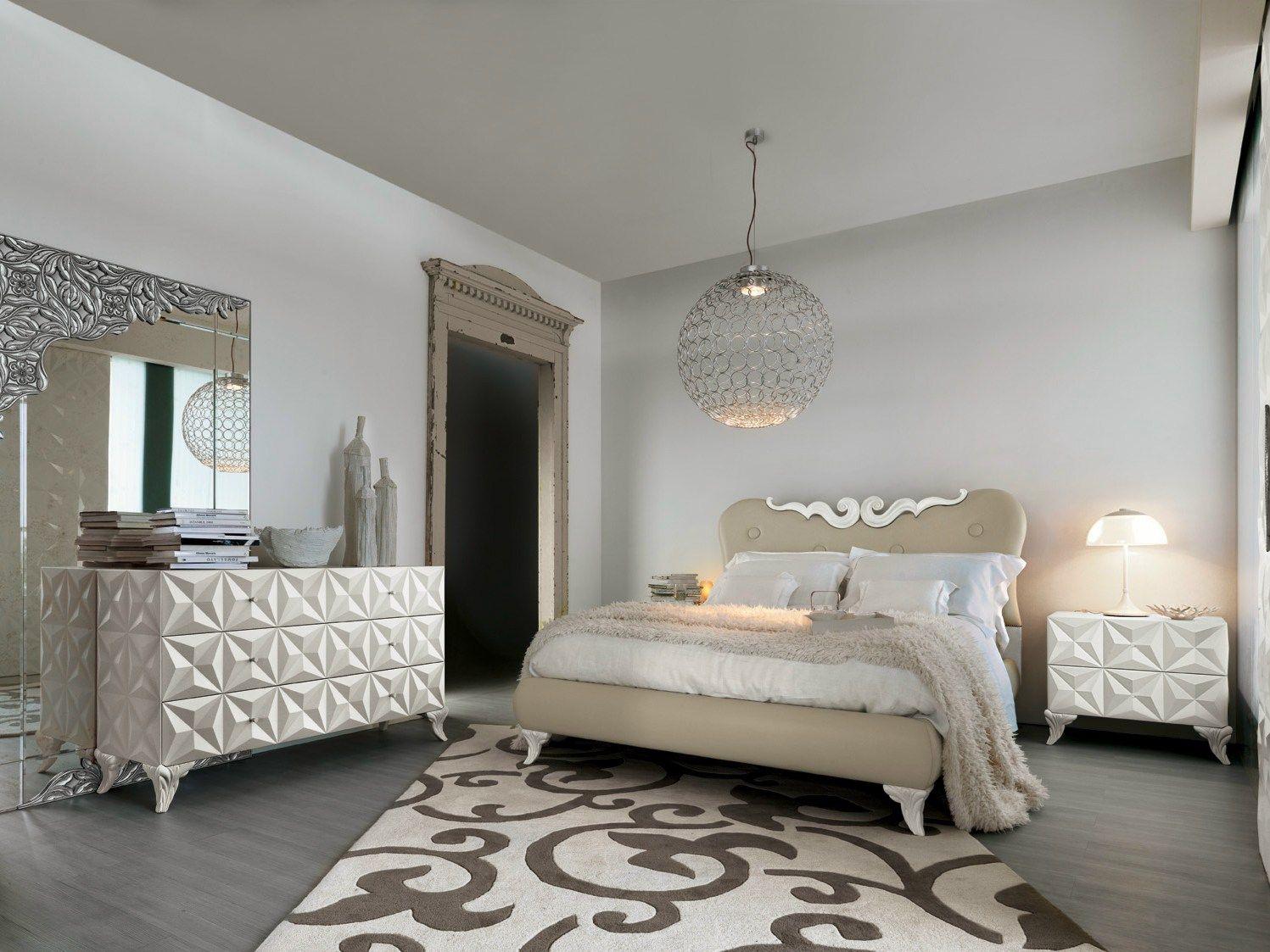 Camera da letto di lusso Bianca. Bedroom Luxury White | Luxury ...