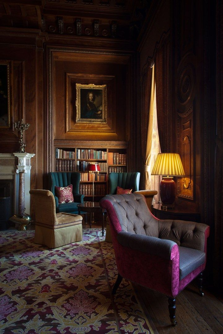 Luxury Showcase For Living Room Royal Art Deco: The Revamped Bar At Cliveden House, Taplow, Berkshire