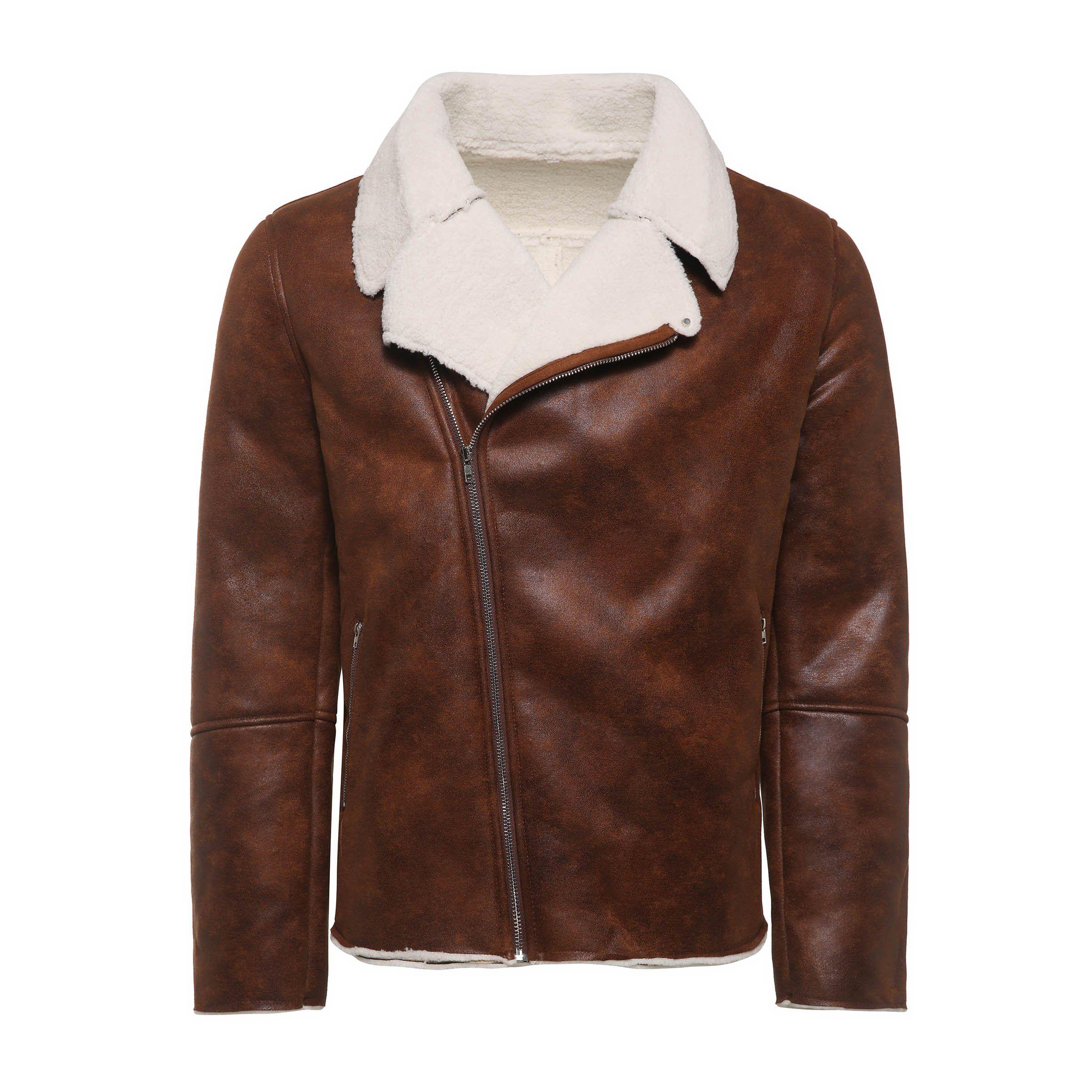 cobcob Womens Wool Outwear,Ladies Thick Jacket Zipper Drawstring Fleece Hoodies Winter Warm Coats