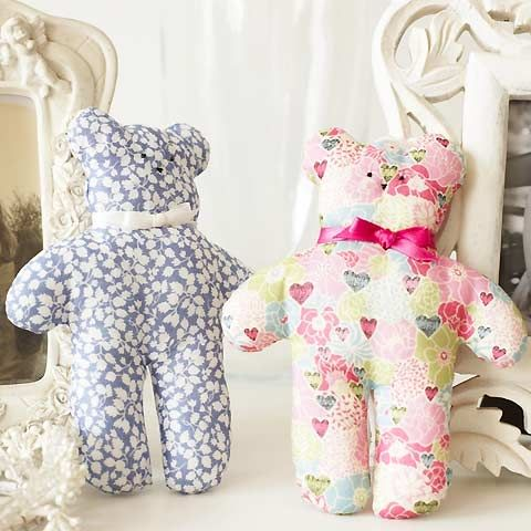 Sew tiny teddies: free sewing pattern :: allaboutyou.com | sewing ...