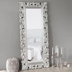 Specchio Rivoli argento 190x80