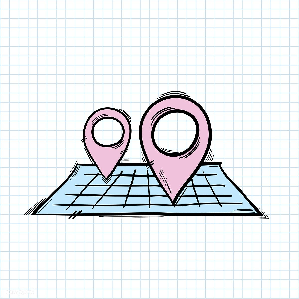 Vector of location pin icon free image by