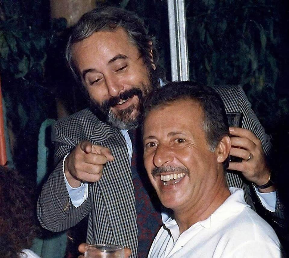 Giovanni Falcone e Paolo Borsellino. Due eroi.