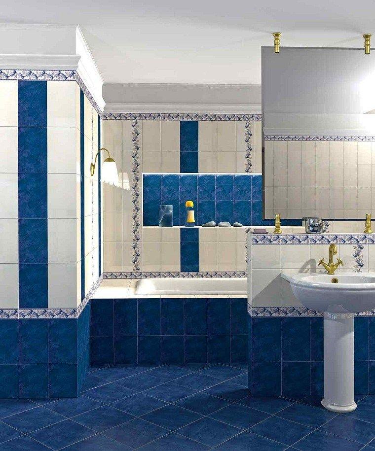 Colores Basicos Azules Como Color Principal En El Diseno De