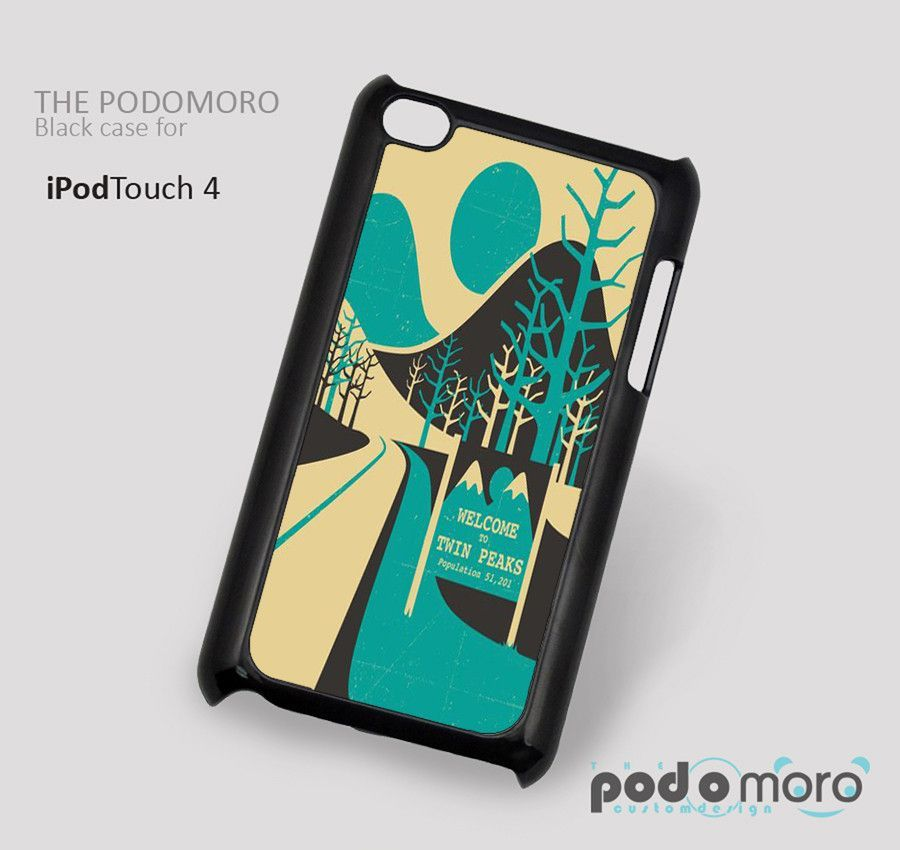 Welcome To Twin Peaks for iPhone 4/4S, iPhone 5/5S, iPhone 5c, iPhone 6, iPhone 6 Plus, iPod 4, iPod 5, Samsung Galaxy S3, Galaxy S4, Galaxy S5, Galaxy S6, Samsung Galaxy Note 3, Galaxy Note 4, Phone Case