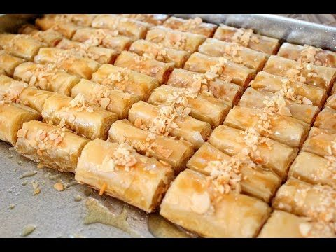 Youtube Homemade Pastries Baklava Turkish Recipes
