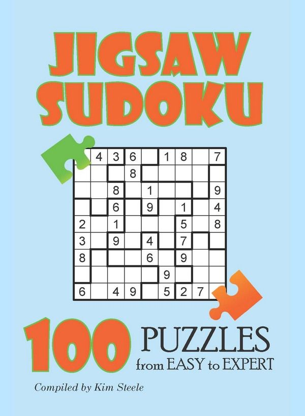graphic about Sudoku Puzzles Printable Pdf titled Jigsaw Sudoku Puzzles - PRINTABLE PDF SUDOKU Sudoku