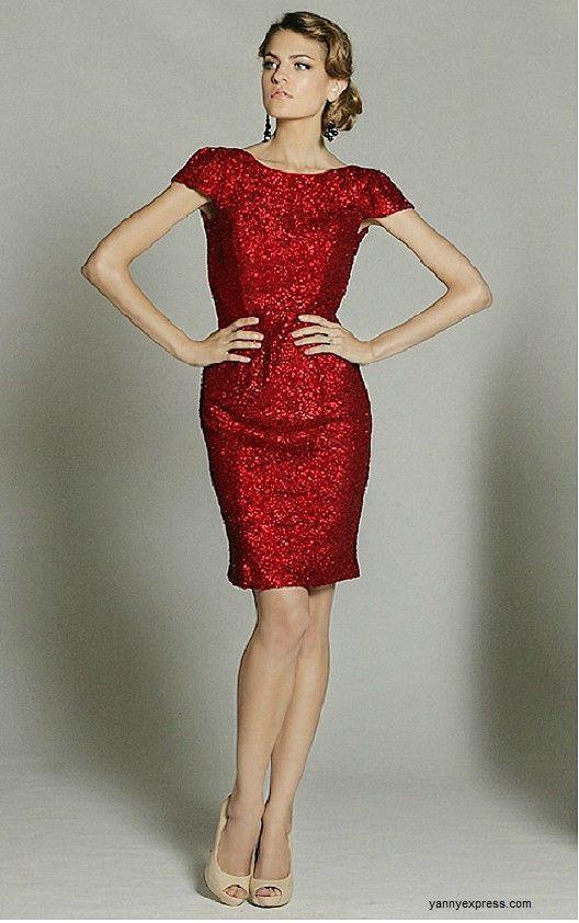 Evening Knee Length Dresses