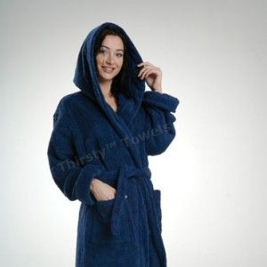 Luxury Line Deluxe Hooded Unisex, Plush, Thirsty Terry