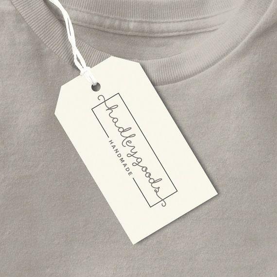 Personalizzato abbigliamento tag Tag a mano etichetta del Label - product label template