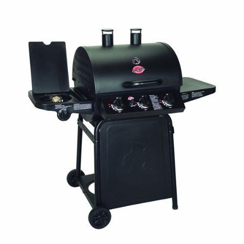 Char-Broil Gas Grill 40,800-BTU Black Outdoor Griller Family Patio Cook-Out BBQ  #CharGriller