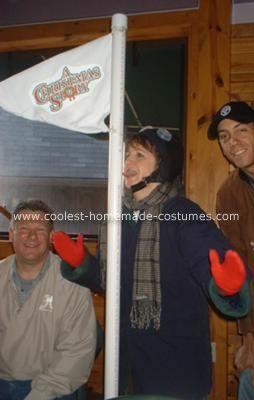 Coolest Homemade Christmas Story's Toungue Stuck to Pole Costume | A christmas story, Christmas ...