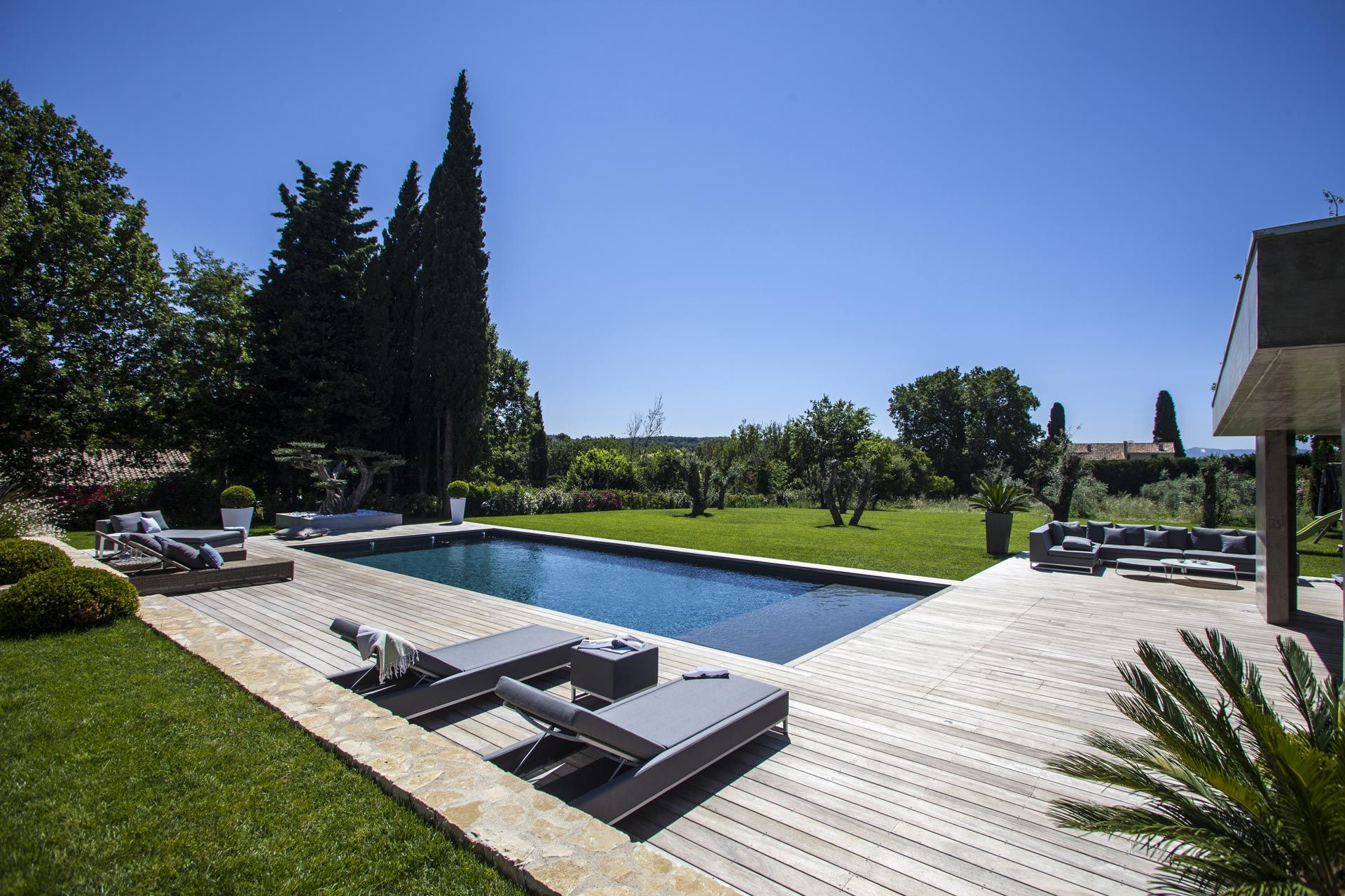 Aix En Provence Creation Jardin Prive Architecte Paysagiste