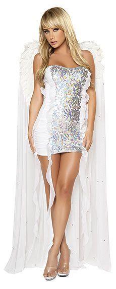 Pin by PHAT ALBERT on Sexy Little Dress Pinterest Fashion - angel halloween costume ideas