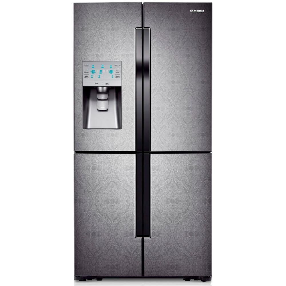 Samsung 3039 cu ft french door refrigerator in paisley textured samsung 3039 cu ft french door refrigerator in paisley textured stainless steel rf32fmqdbxw rubansaba