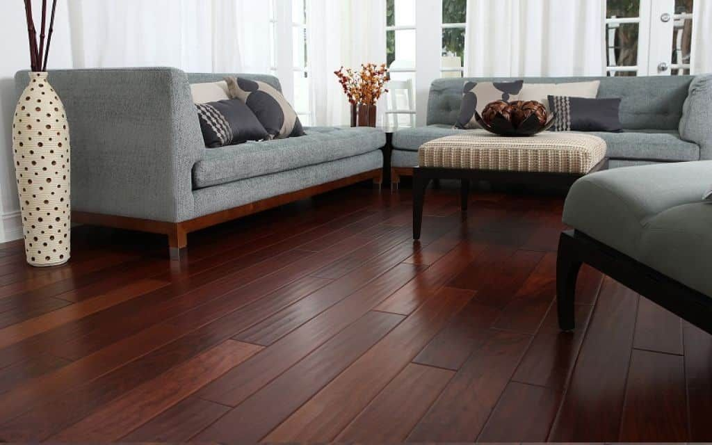Choosing The Right Floor Colors Living Room Wood Floor Grey Sofa Living Room Cherry Wood Floors