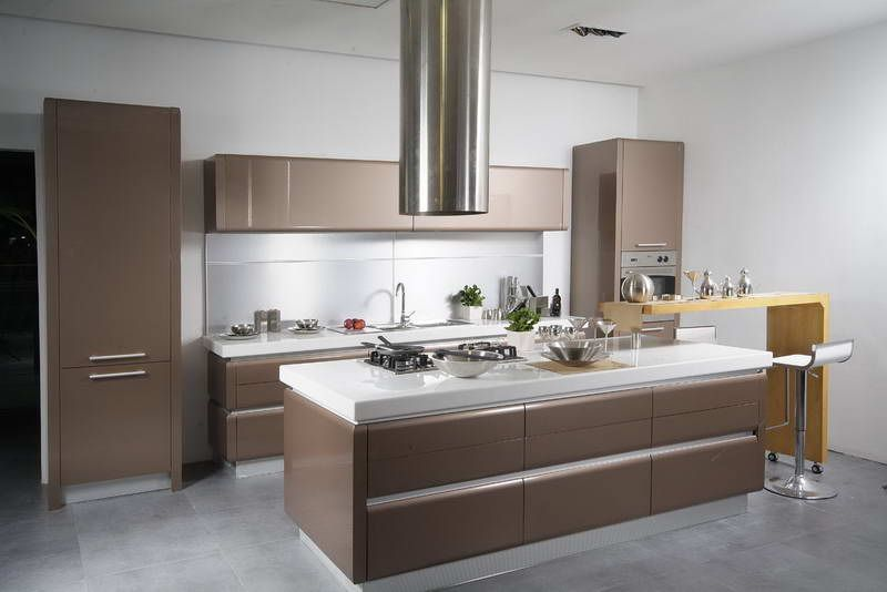 Marvelous Modern Kitchen Cabinets | ... Cabinets: Pictures Of Painted Kitchen Cabinet  Design With Part 7