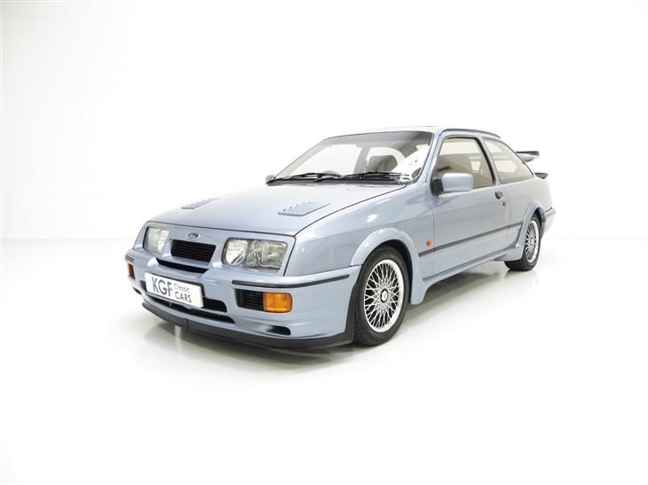 Classic One Of 52 Moonstone Blue Ford Sierra Rs500 Cosw For Sale In Peterborough With Classic Sports Car Clas Classic Cars Ford Sierra Classic Sports Cars