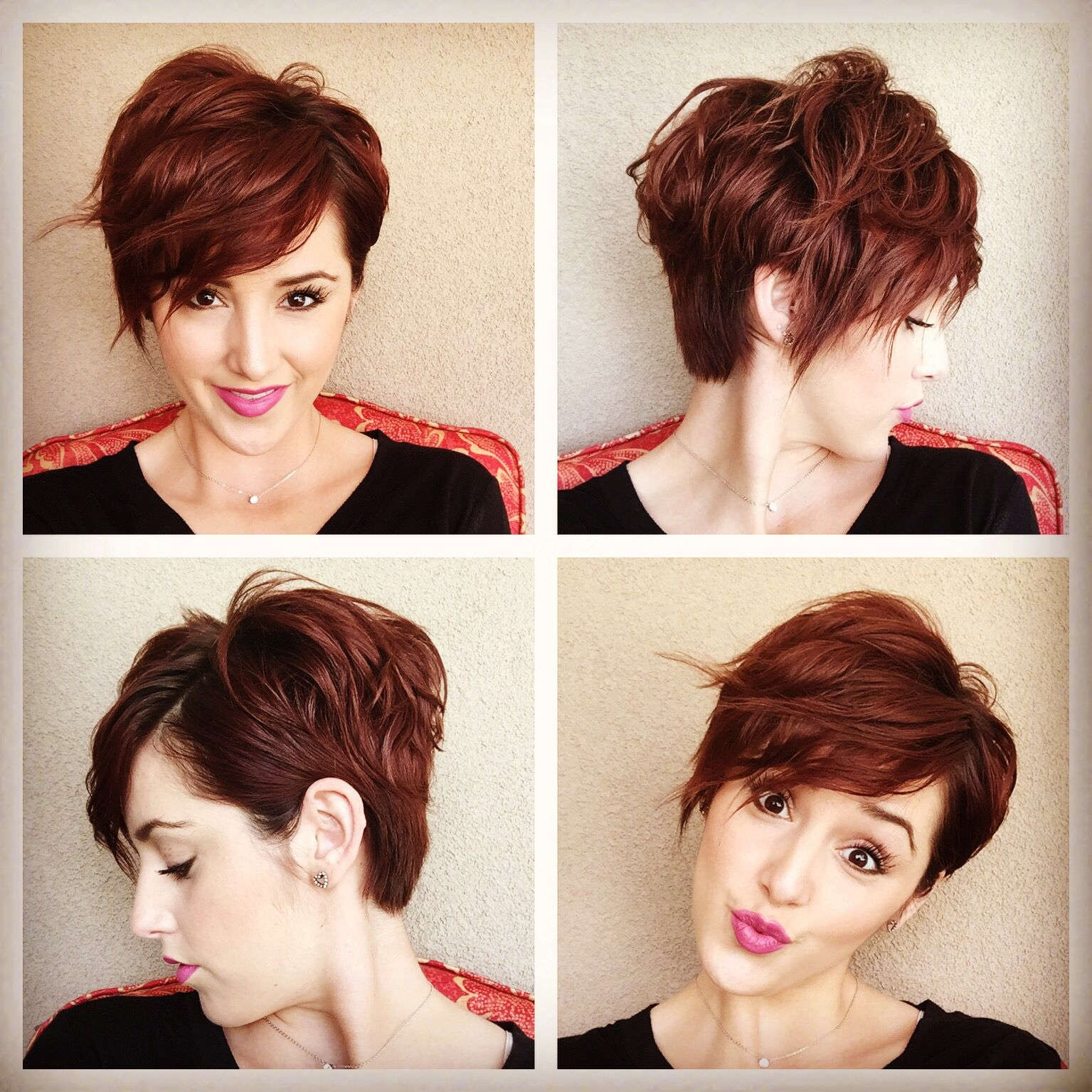 Long Pixie Grow Out K
