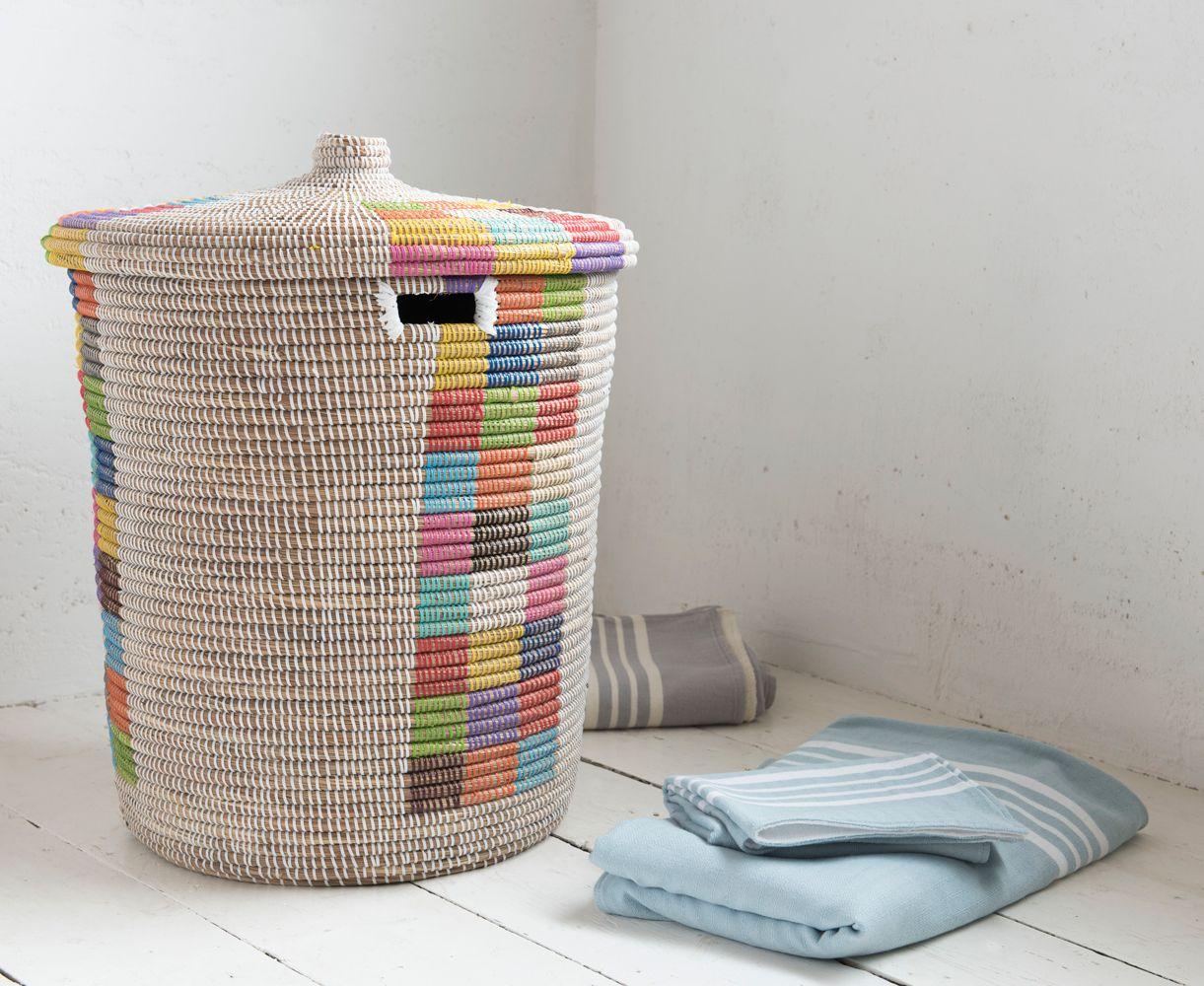 Disco Laundry Basket Woven Laundry Basket Kids Laundry Basket