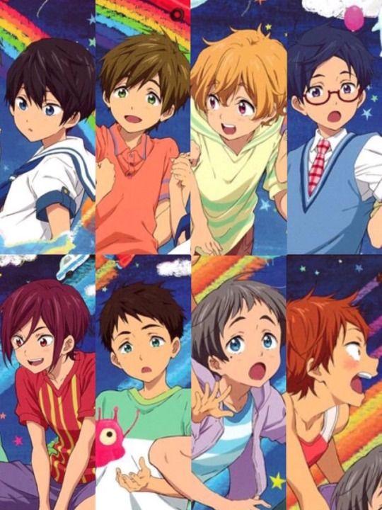 Free Children Free Anime Splash Free Free Iwatobi