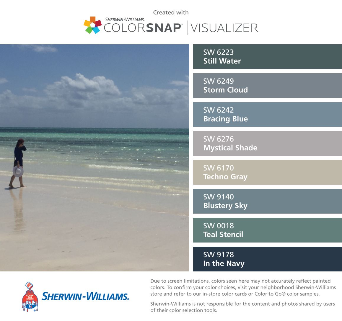 Sherwin williams paint colors sherwin williams 6249 storm cloud - I Found These Colors With Colorsnap Visualizer For Iphone By Sherwin Williams Still